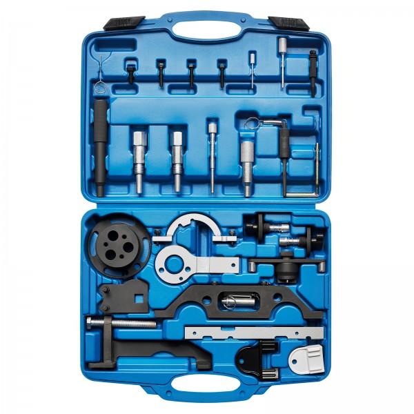 KRAFTPLUS® K.200-4013 Motor Einstellwerkzeug Satz für ua. GM Opel Vectra 27-tlg.