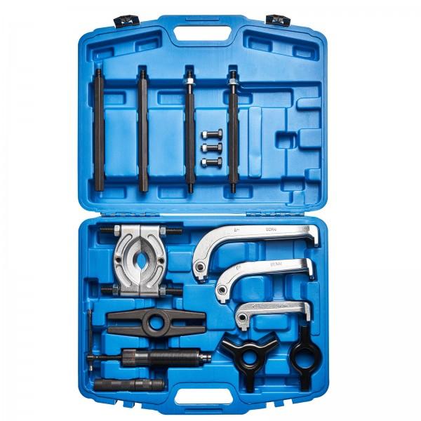 KRAFTPLUS® K.277-2910 Hydraulischer Abzieher für Radlager 2 / 3 Arm 10t 22-tlg.