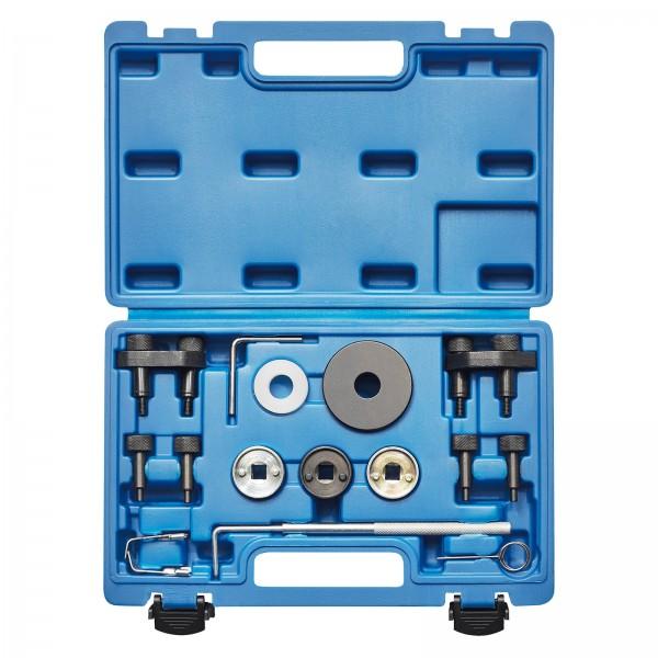 KRAFTPLUS® K.200-9018 Motor Einstellwerkzeug Satz für VW Audi Seat Skoda 17-tlg.