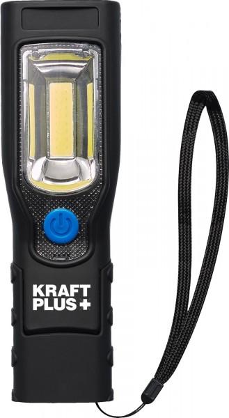KRAFTPLUS® K.900-3710 COB-LED Werkstattlampe 3,7V/2,2 Ah mit Magnetfuß & Hacken