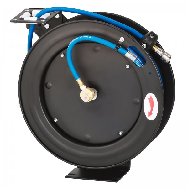 """KRAFTPLUS® K.985-8415 Druckluftschlauch 1/4"""" Aufroller 15m automatischer Einzug"""